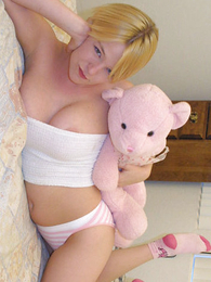 Panty galleries - Blondie plays with will battle-cry hear be required of favorite toy and will battle-cry hear be required of pussy