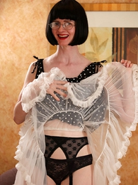 Undies pics - Petticoats, ruffles and stockings