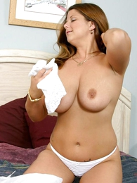 Panty pics - Massive tits cosset tasting be passed on brush wet panty
